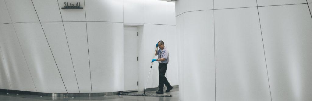 Hauswartsdienst - Sinnbild